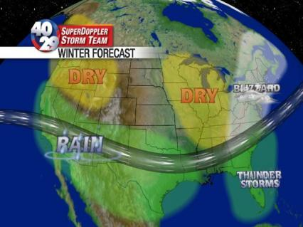 2009-2010 Winter Forecast | 40/29 TV Weather Blog