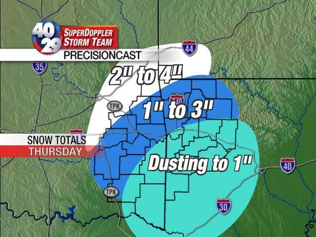 Uncategorized  TV Weather Blog Page - Us snowfall map 2009