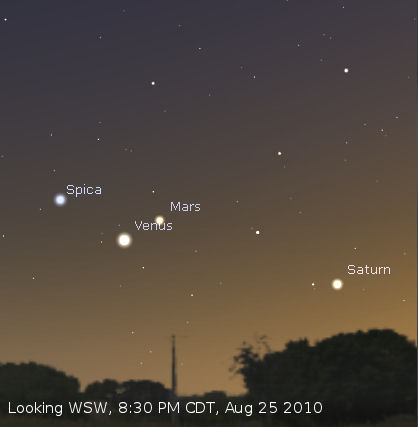 visible planets tonight saturn - photo #12